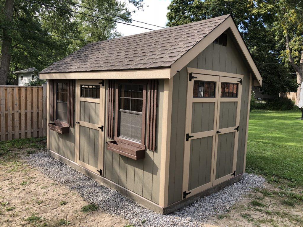 IMG_8700 Clay Shed, Buckskin Trim, Dark Brown shutters (Large)